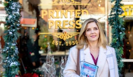 Jenn Lilley outside publishing business hallmark