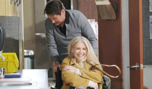 jack and jenn horsing around hospital days of our lives