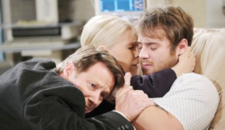 jenn and jack hug jj days of our lives