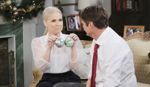 jenn shows jack their ornaments days of our lives