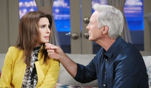 gina plays on john's caring nature days of our lives