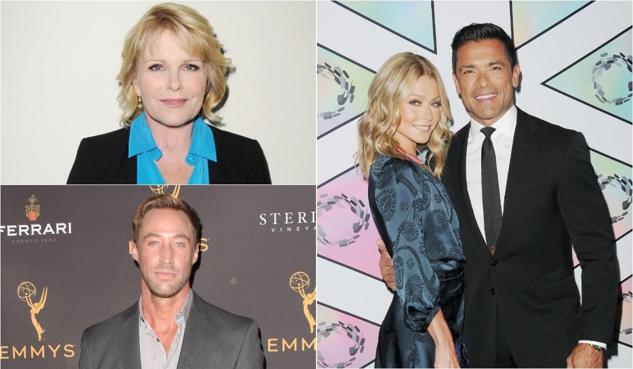 Judi Evans, Kyle Lowder, Kelly Ripa, Mark Consuelos soap opera alum news