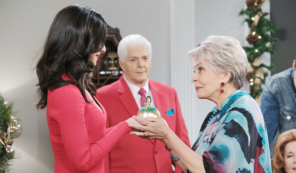 Gabi gets ball christmas days of our lives