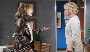 kate and kayla argue at hospital days of our lives
