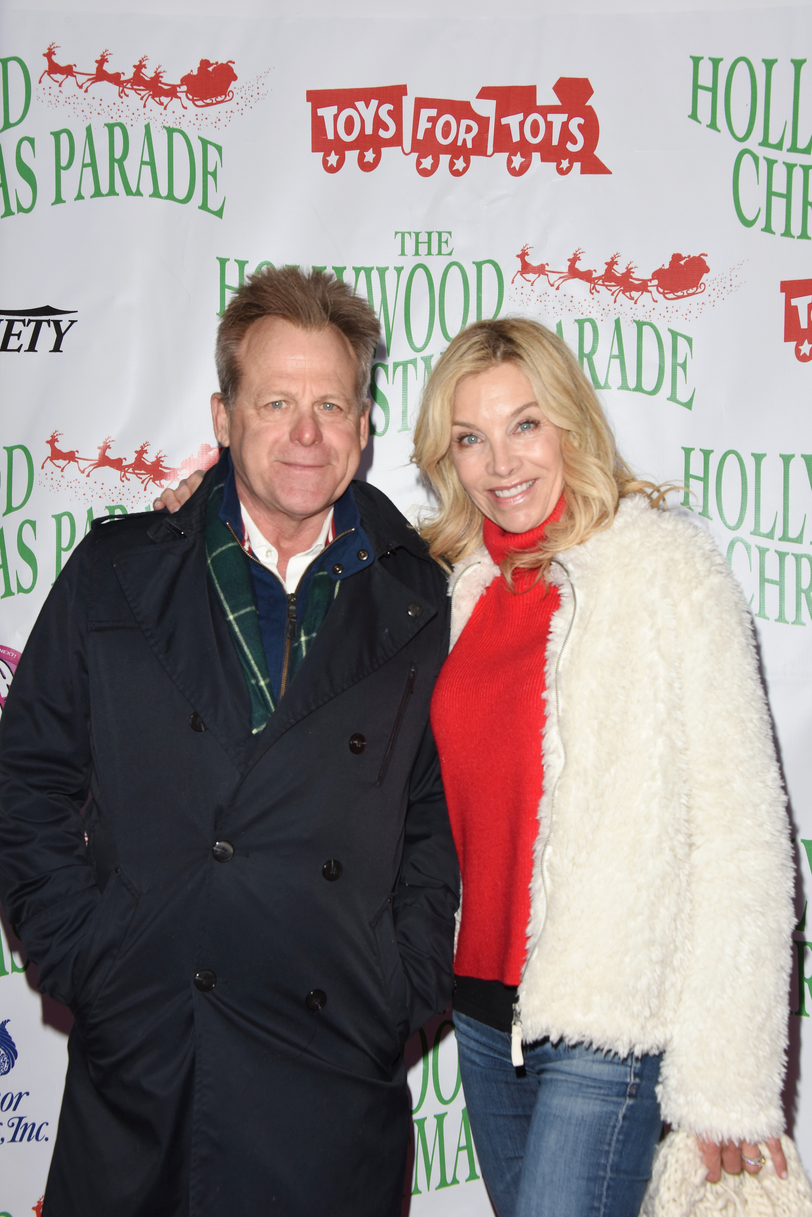 Kin Shriner attends the 88th annual Hollywood Christmas Parade