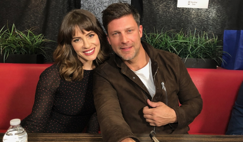 Linsey Godfrey & Greg Vaughan Temporarily Exit Days Due to Mickey Story