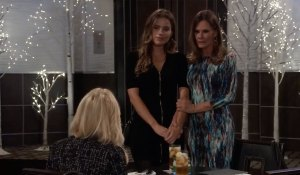 Lucy introduces Sasha on General Hospital