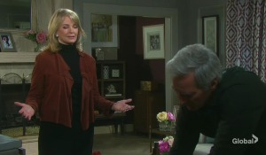 Marlena and John debate who sent flowers days of our lives