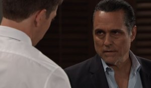 michael talks to sonny about mike general hospital