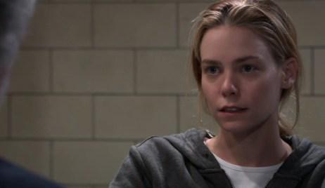 Nelle demands Martin get her released on General Hospital