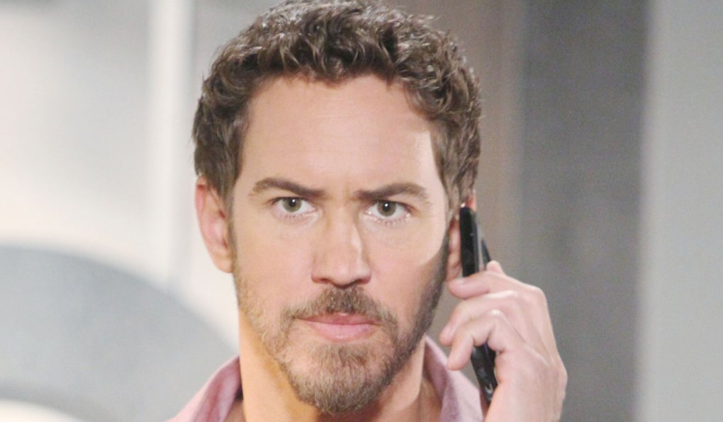 peter is caught off guard general hospital
