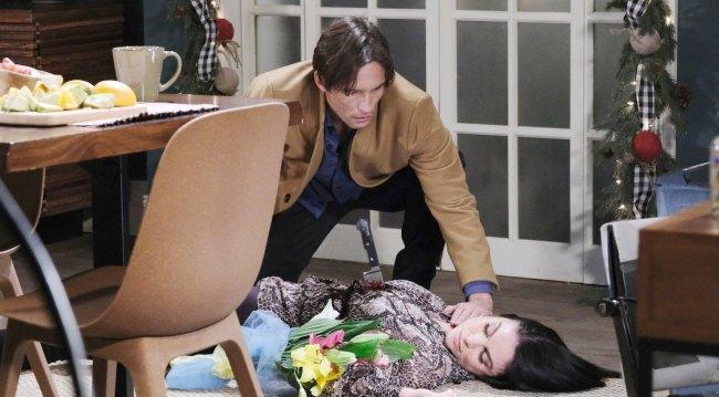 Philip finds Chloe stabbed on Last Blast Reunion