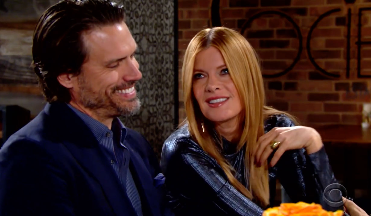 Phyllis charms Nick on the Young and the Restless