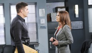 rafe talks to hope as gina at spd days of our lives