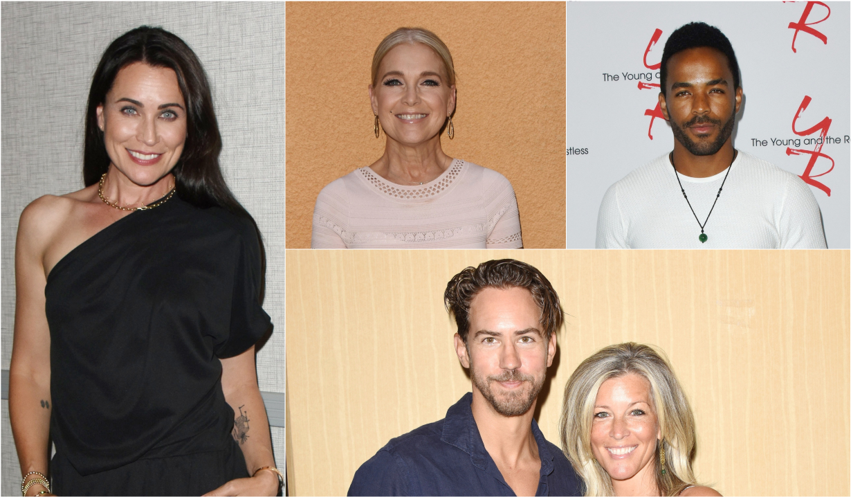 Soap stars holiday wishes and photos