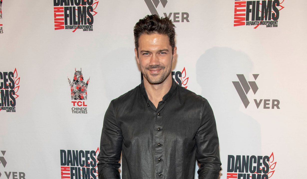 general hospital ryan paevey in 2020 hallmark valentine movie