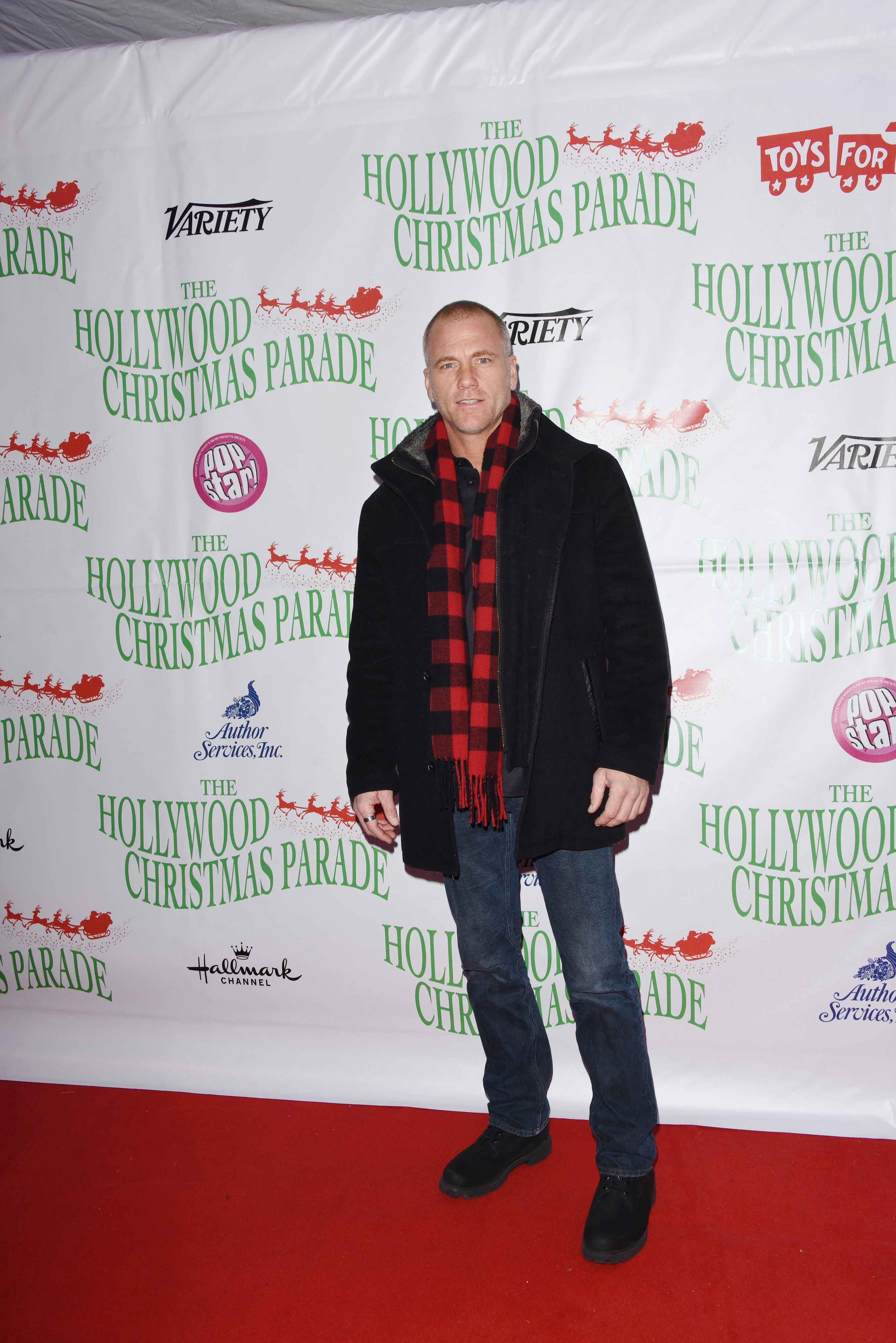 Sean Carrigan attends the 88th annual Hollywood Christmas Parade