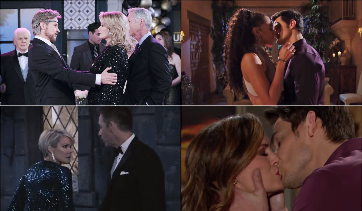 bold and beautiful days of our lives general hospital young and the restless roundup January 6