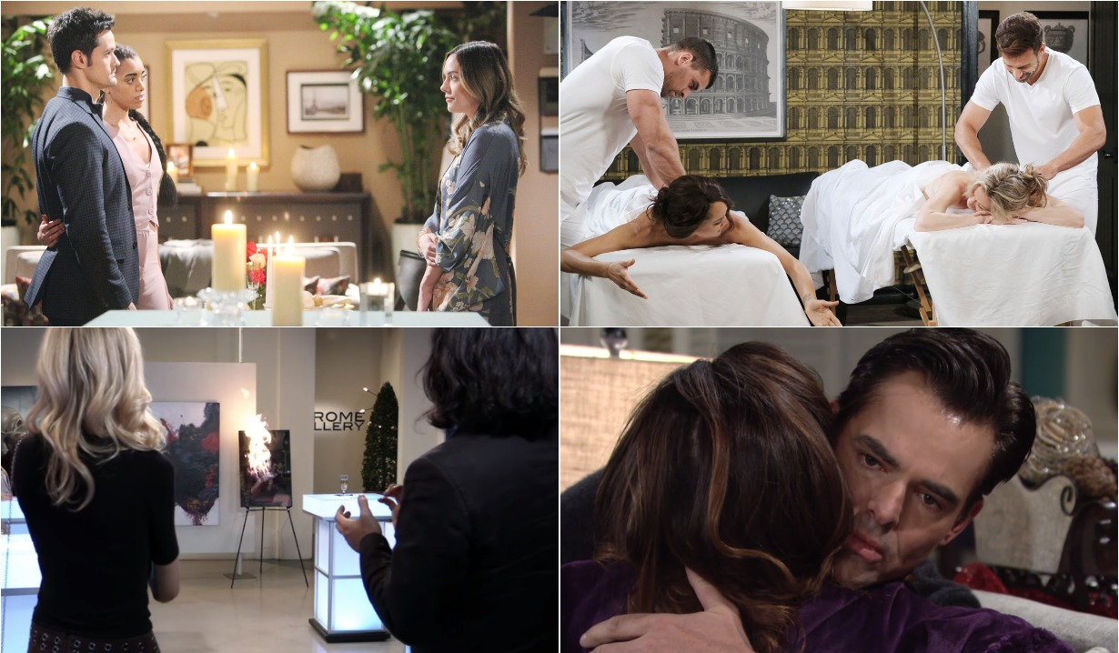 bold and beautiful days of our lives general hospital young and the restless roundup December 23