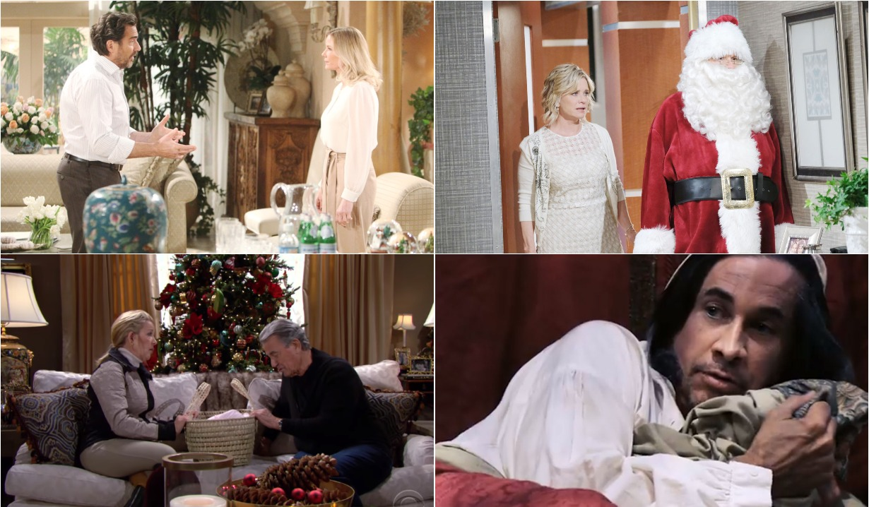 bold and beautiful days of our lives general hospital young and the restless roundup December 30