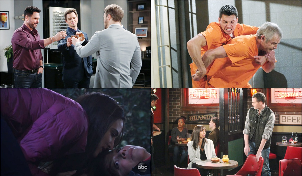 bold and beautiful days of our lives general hospital young and the restless roundup December 9