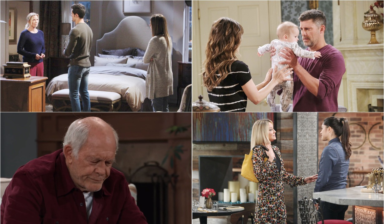 bold and beautiful days of our lives general hospital young and the restless roundup December 2