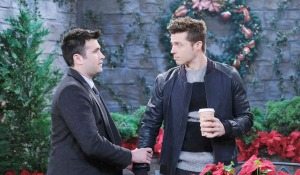 sonny holds evans arm days of our lives