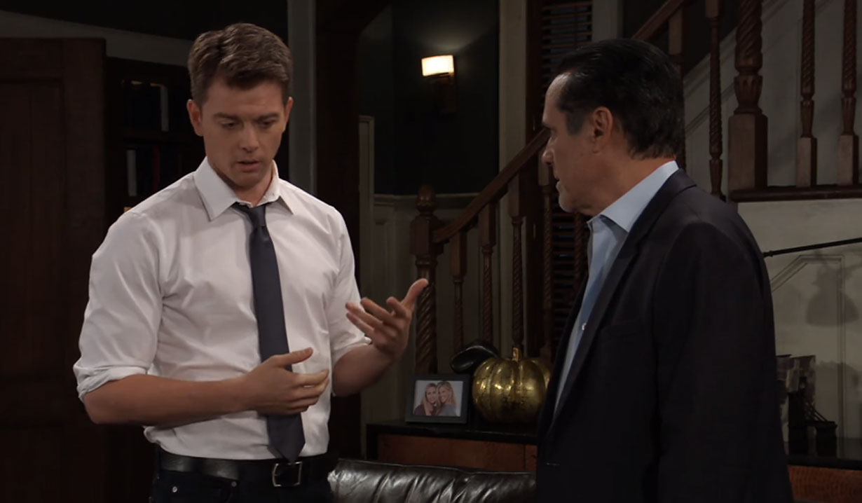 sonny listens to michael talk about mike general hospital