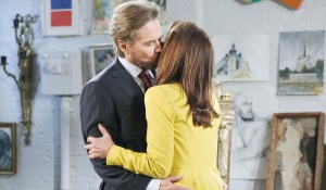 Stefano kiss gina days of our lives
