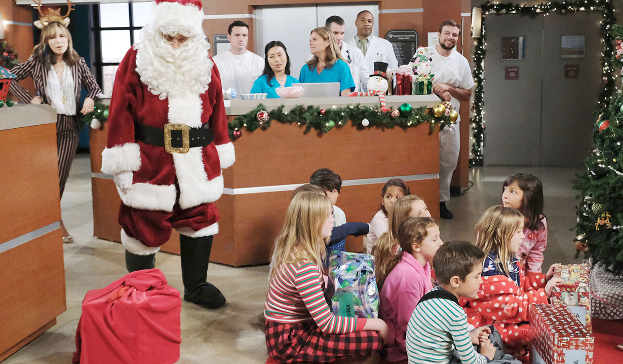 Christmas in University Hospital