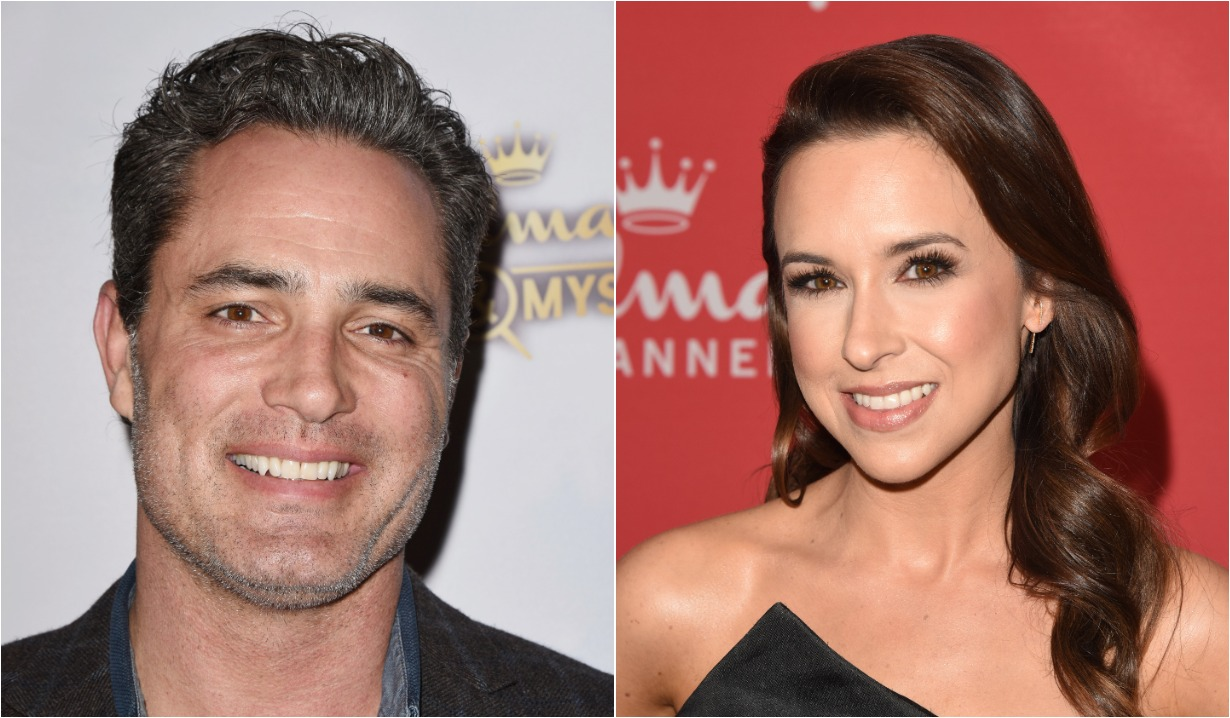 days of our lives alum victor webster and all my children Lacey Chabert in hallmark winterfest 2020