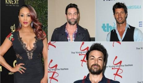 Vivica A. Fox, Jason-Shane Scott, Rib Hillis and David Lago in LMN thriller