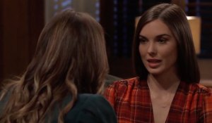 Sasha and Willow talk pregnancy on General Hospital
