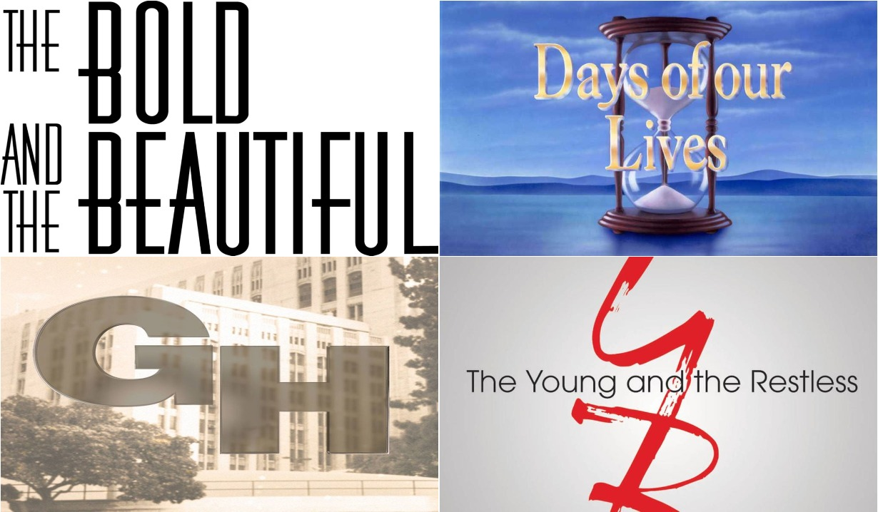 2020 bold and beautiful days of our lives general hospital young and restless logos