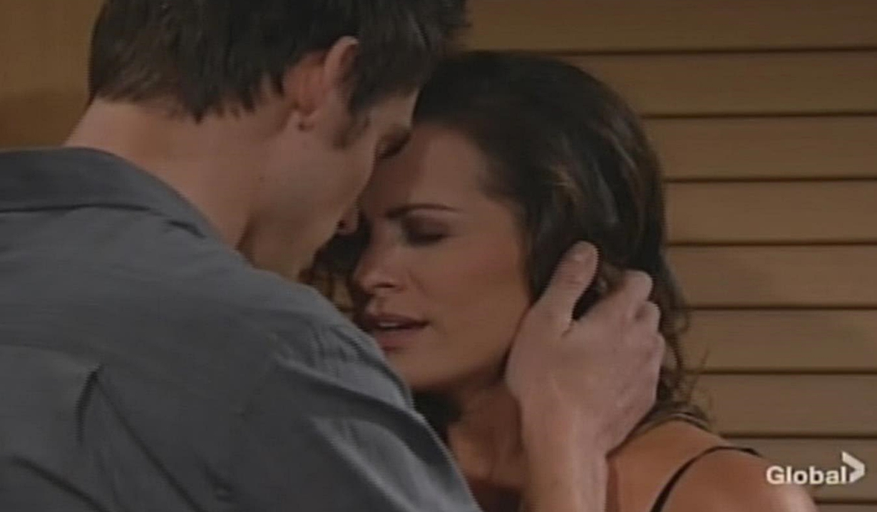 Adam and Chelsea make love Young and Restless