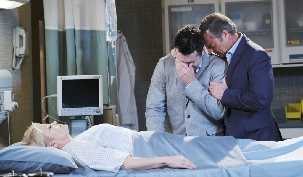 Adrienne dead with Sonny Justin Days of our Lives