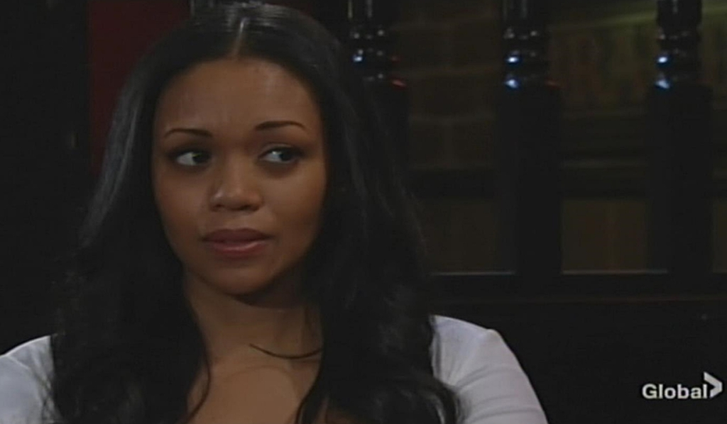 Amanda questions Billy Young and Restless