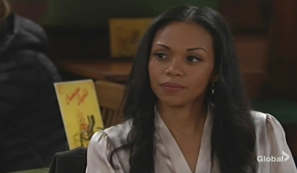 Amanda questions Nate Young and Restless