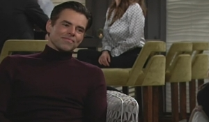 Billy hears Chloe's news Young and Restless