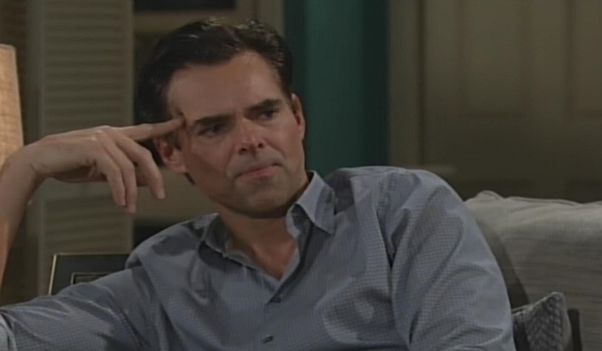 Billy won't walk on eggshells Young and Restless
