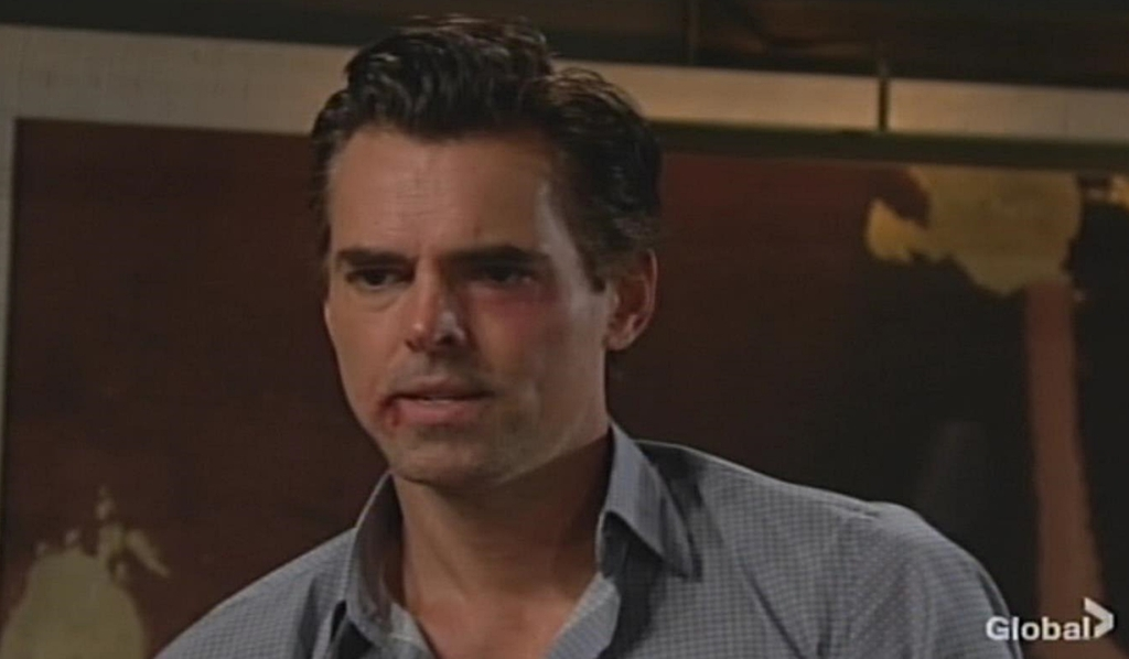Billy watches Amanda leave Young and Restless