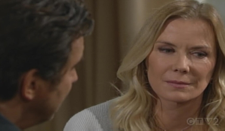 Brooke Ridge talk divorce papers Bold and Beautiful