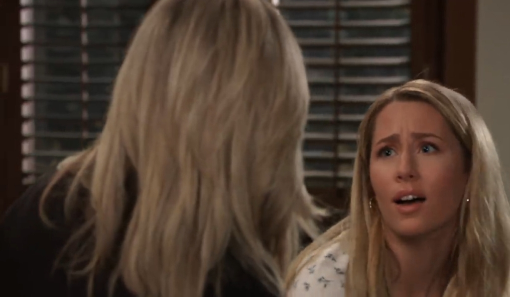 Carly talks about flirting with Joss at home General Hospital