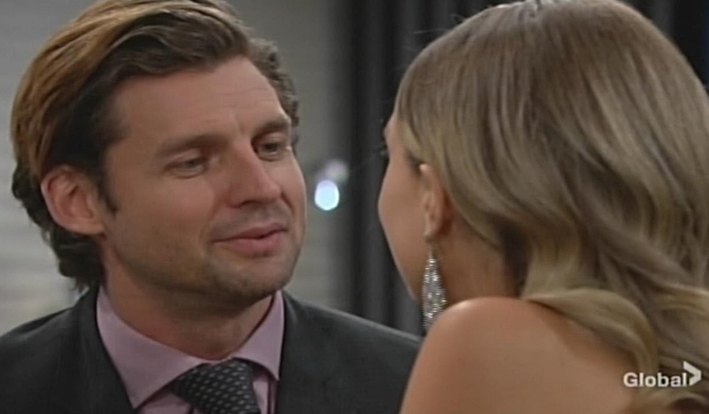 Chance flirts Abby Young and Restless