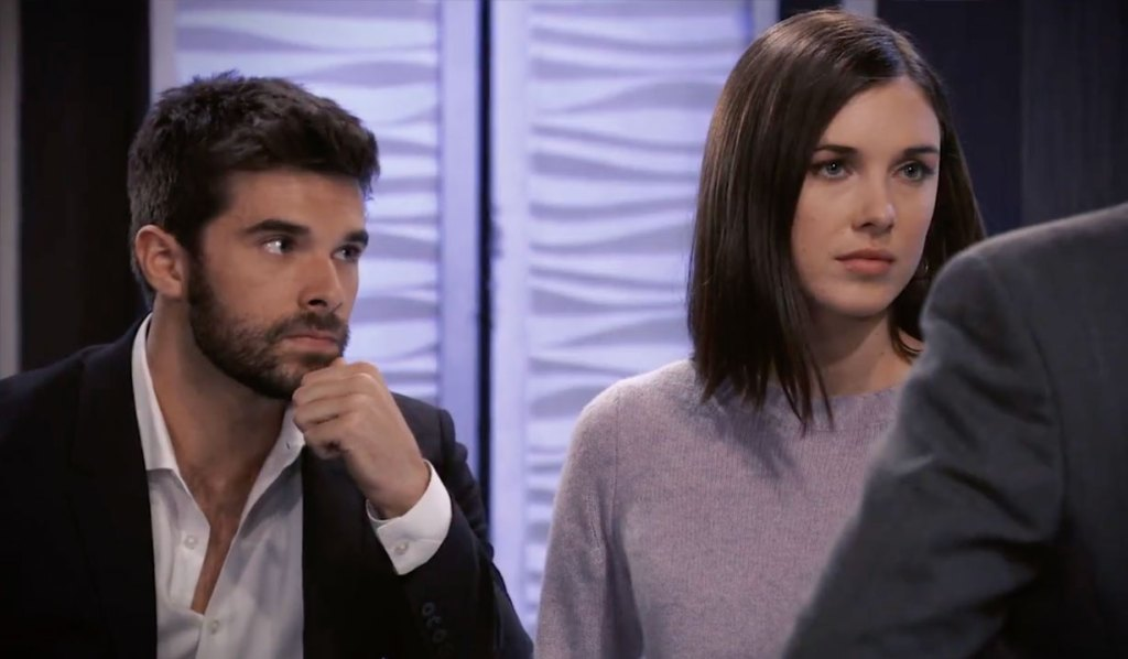 Chase and Willow at the Metro Court on General Hospital