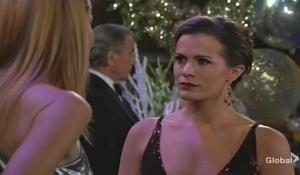 Chelsea and Phyllis square off Young and Restless