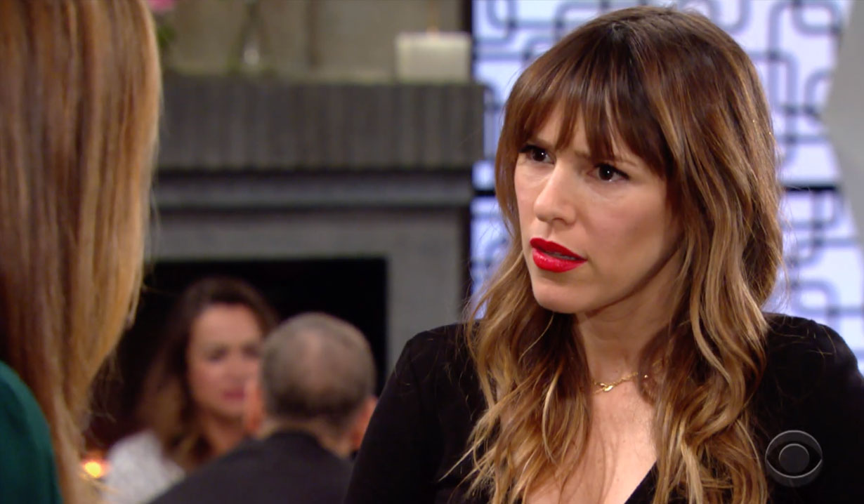 Chloe warns Chelsea about Adam on Young and the Restless