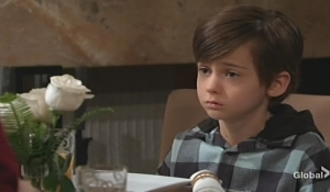 Connor family talk Young and Restless