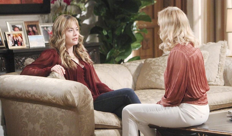 Hope talks to Brooke Bold and Beautiul