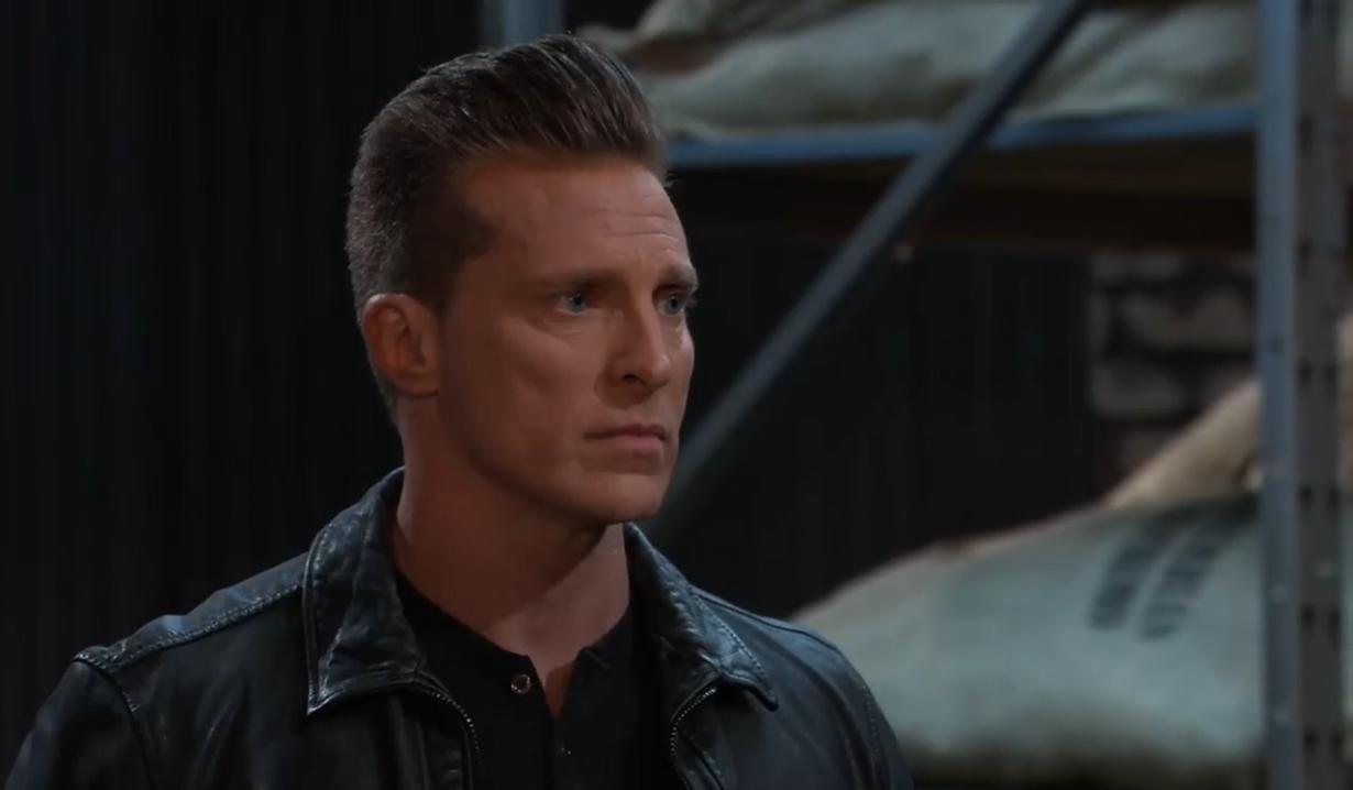Jordan demands cooperation from Jason on pier General Hospital